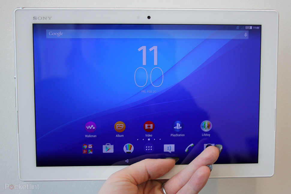 Sony Xperia Z4 Tablet Hands On Slimmer Lighter And Sexier Pocket