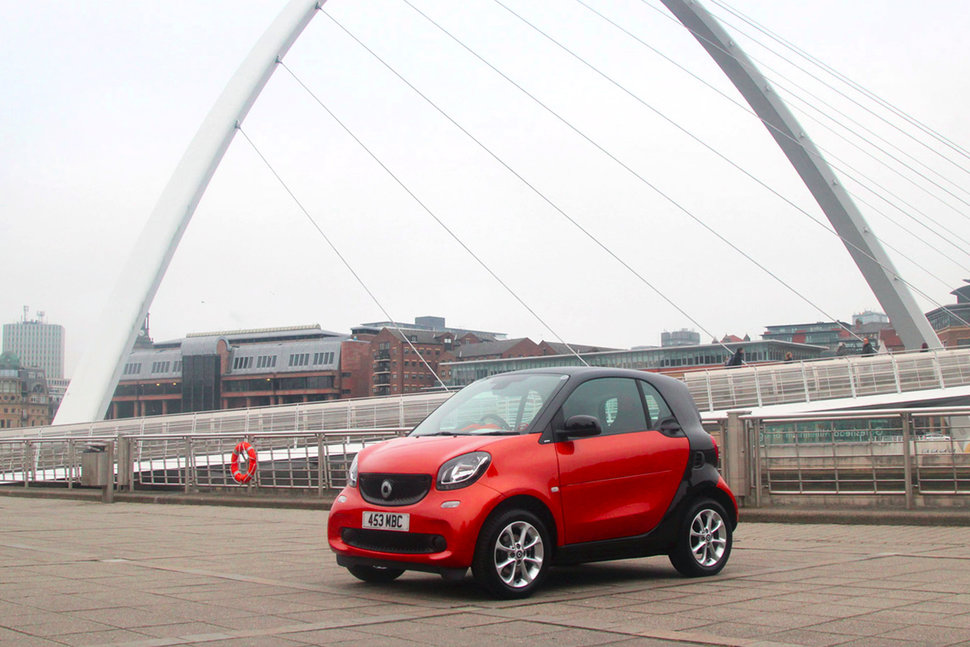 Smart ForTwo first drive: Three generations in, it's smarter th