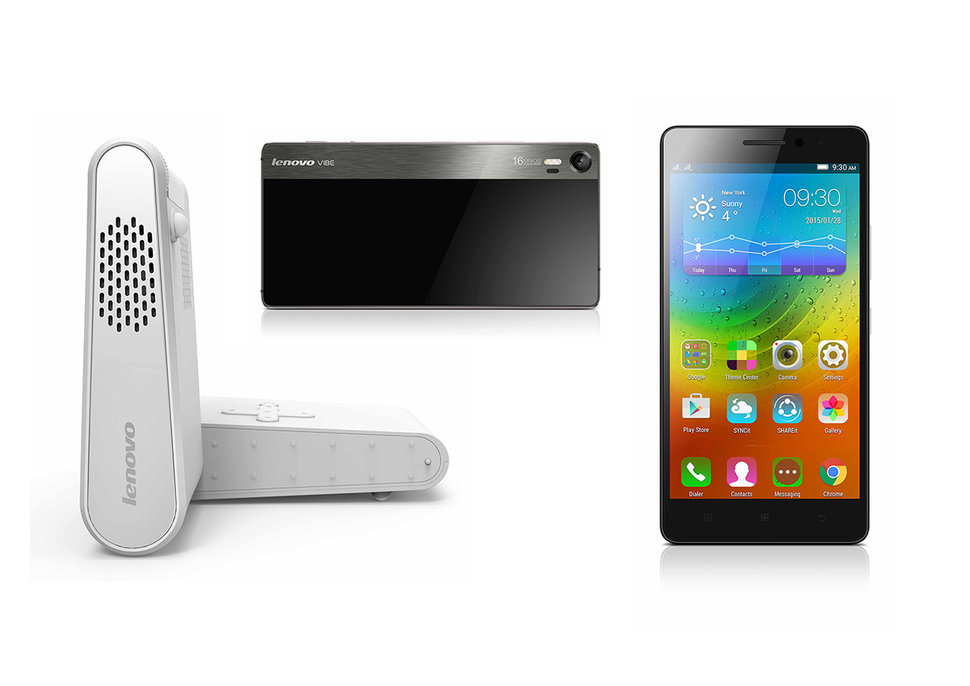lenovo embraces dolby atmos in mobile devices and more vibe shot a7000 smartphone pocket projector image 1