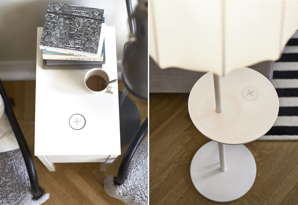 Ikea Brings Wireless Charging Furniture To The Uk As Part