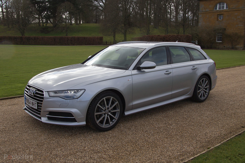 Audi A6 Avant 2015 First Drive Home From Stately Home