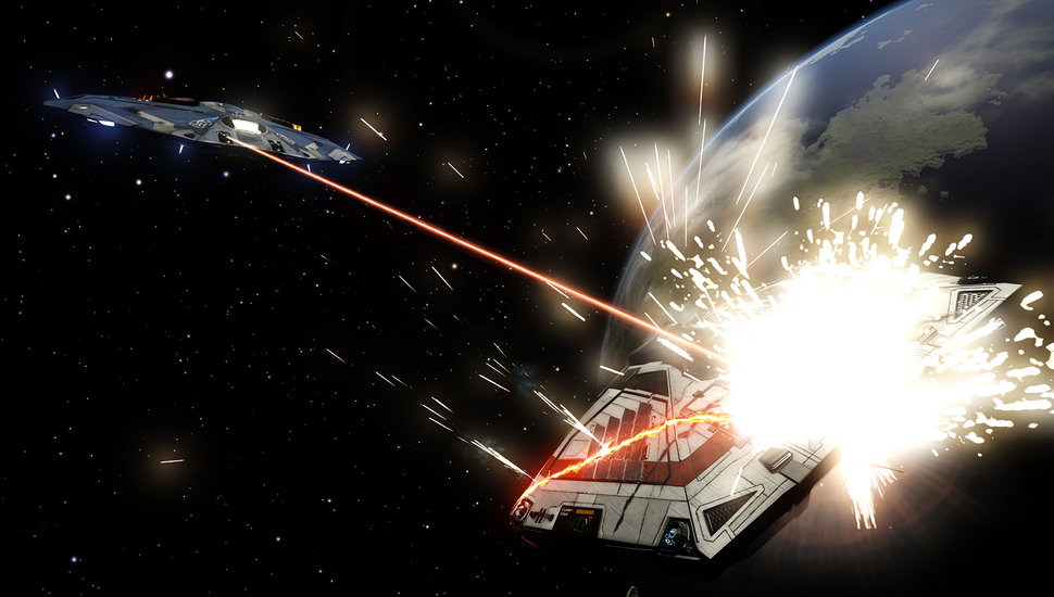 Elite: Dangerous will be an Xbox One exclusive on launch, but w