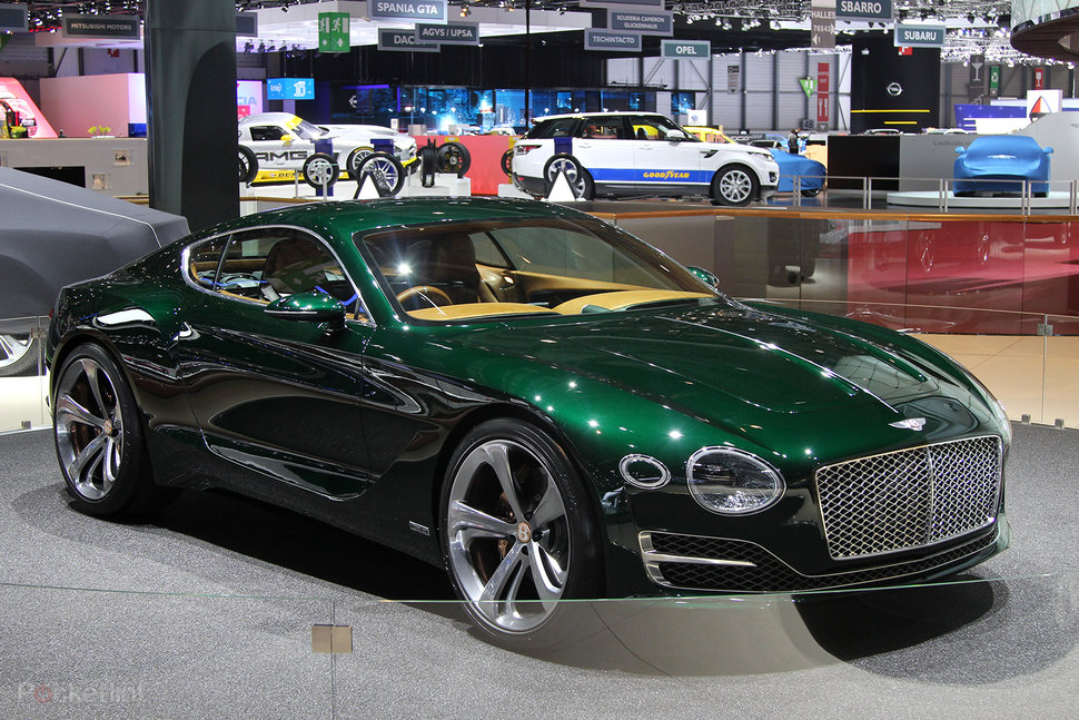 Bentley EXP 10 Speed 6 concept: Old and new collide in explosive ...