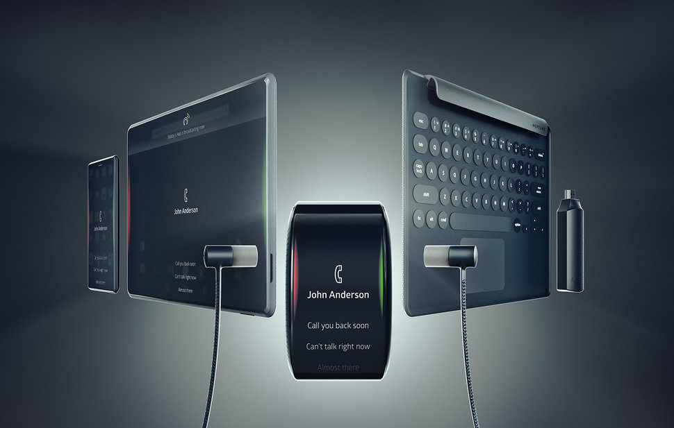 Neptune Suite is an Android watch, phone, tablet, keyboard, wir