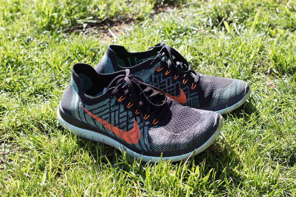 nike free 4 0 flyknit stimulating lightweight but tough on your calves image 1