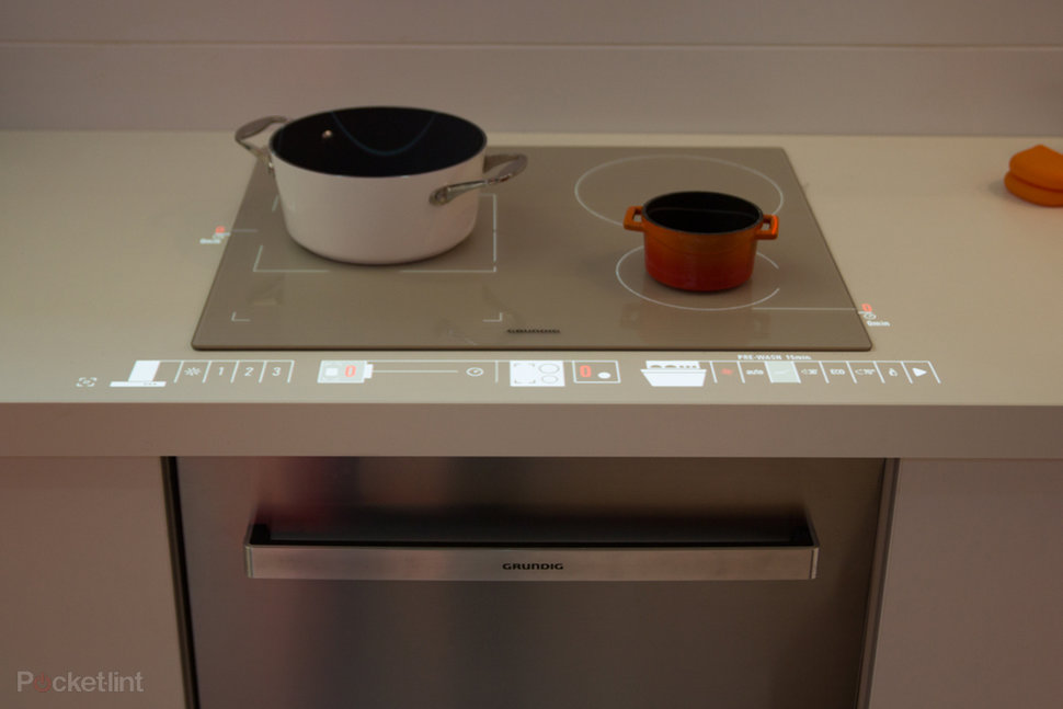 Grundig VUX Is The Smart Kitchen Of The Future Pocketlint - Smart kitchen