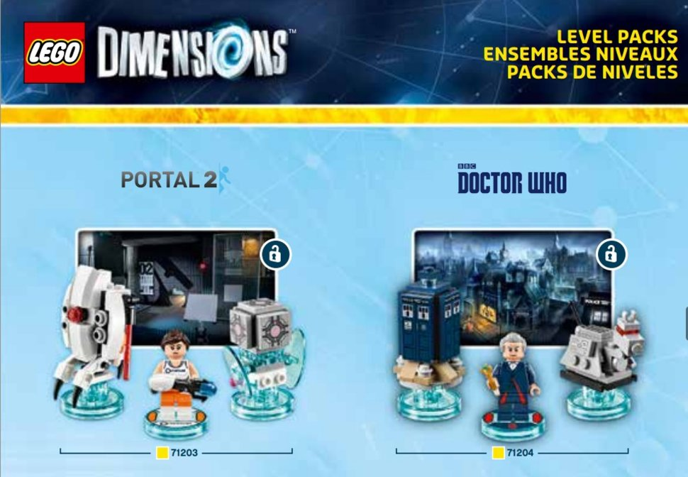 lego dimensions figures leaked doctor who portal 2 the simpsons and more image 1