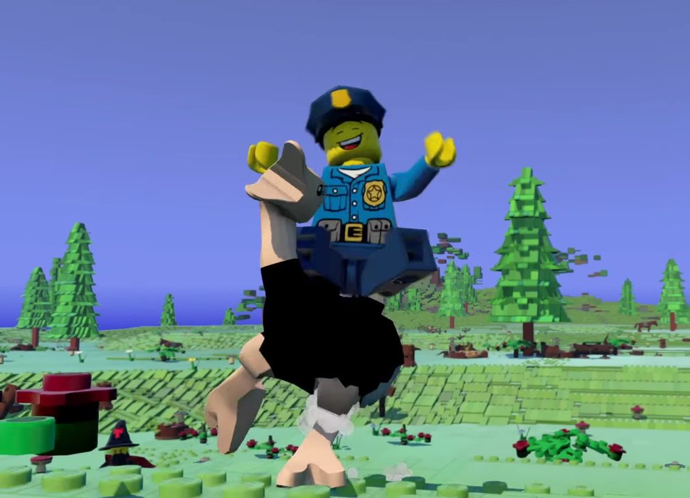 Lego Worlds Is Like Minecraft But With Bricks Watch The New S Trailer Here