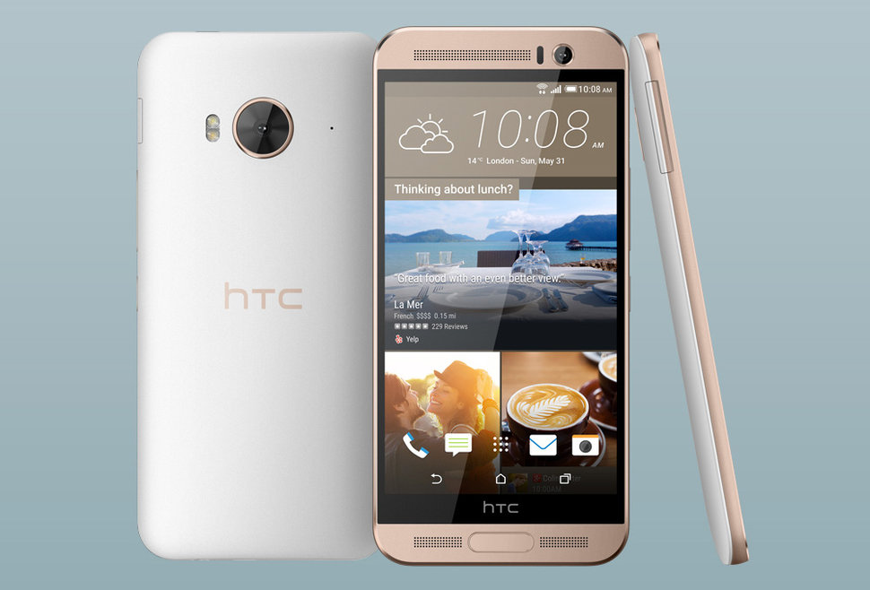 htc can't get enough of the one m9 but is happy to ditch qualcomm for one me image 1