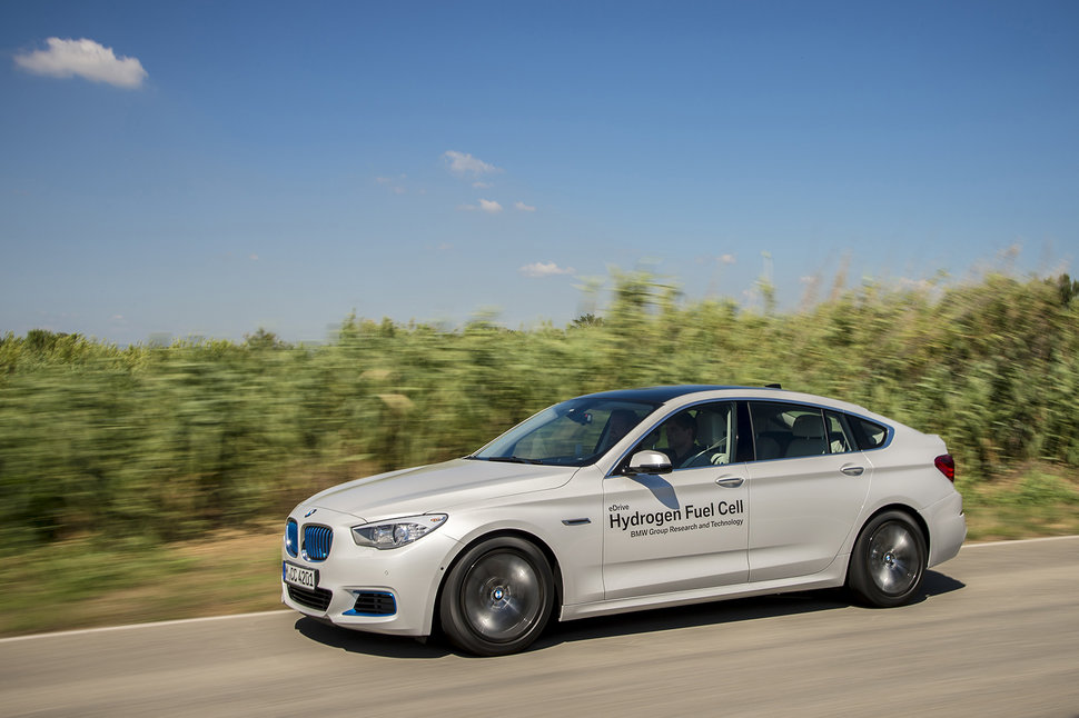 BMW 5 Series GT hydrogen fuel cell first drive: Driving into th