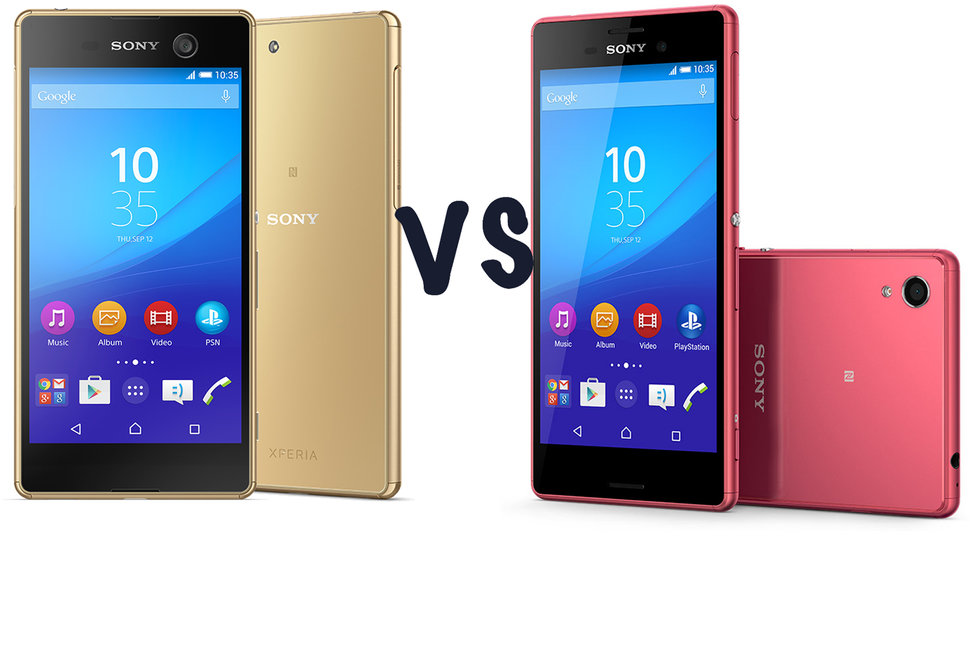 sony xperia m5 vs sony xperia m4 aqua what s the. Black Bedroom Furniture Sets. Home Design Ideas