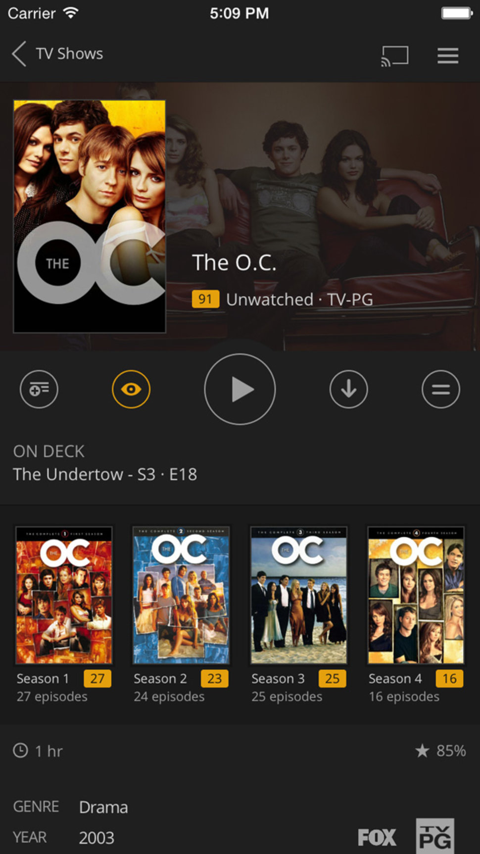 Plex for iOS rebuilt from the ground up: Here's what it can do