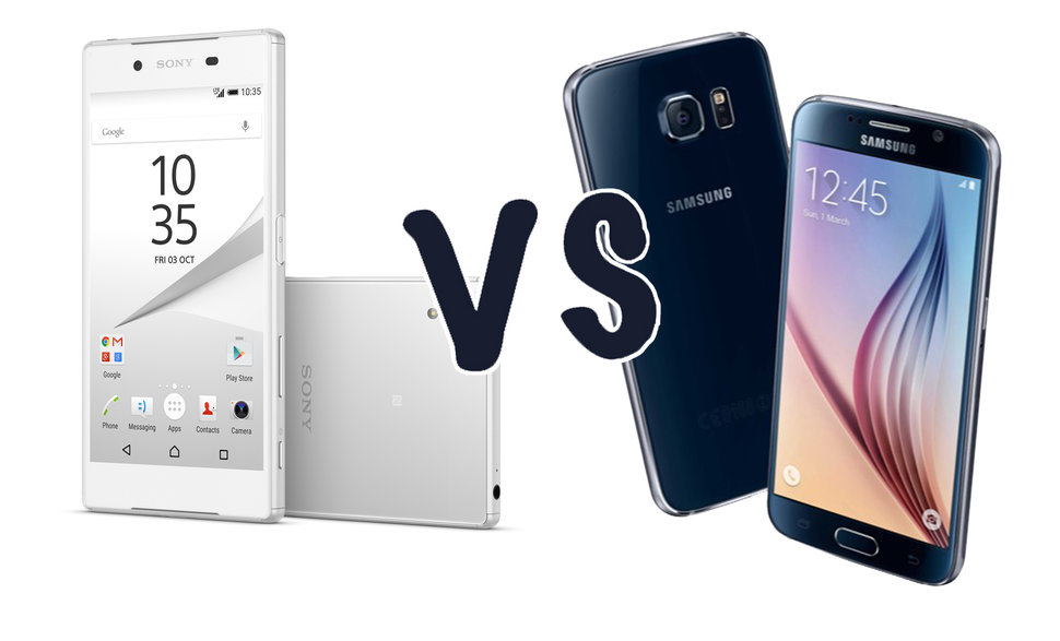 Sony Xperia Z5 vs Samsung Galaxy S6: What's the difference ...