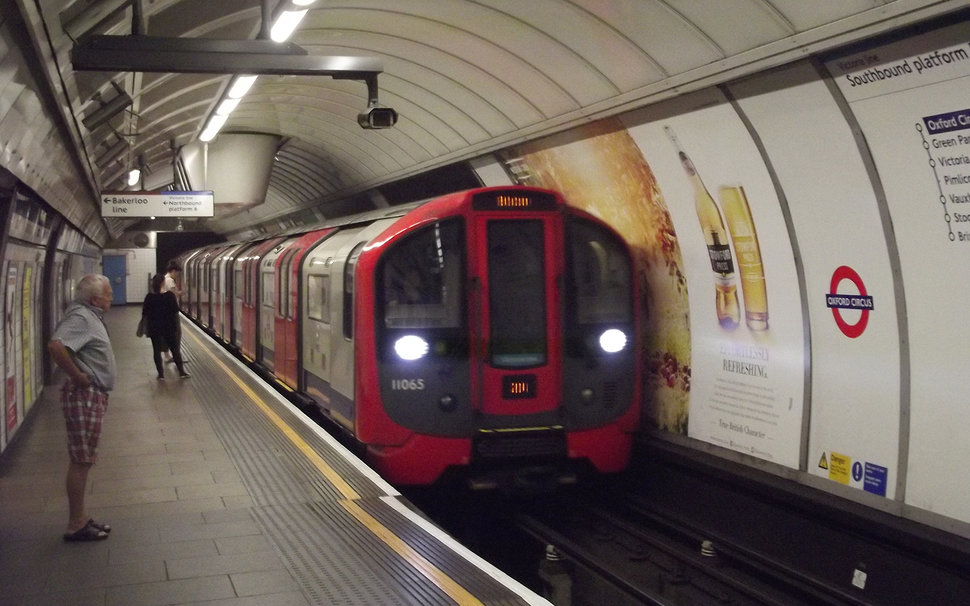 Train Lever In Lodon : London tube trains use braking energy to power entire