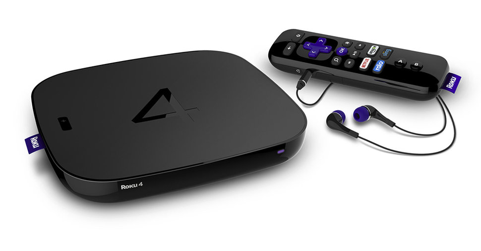 This is the Roku 4, bringing 4K UHD and a remote that can't be
