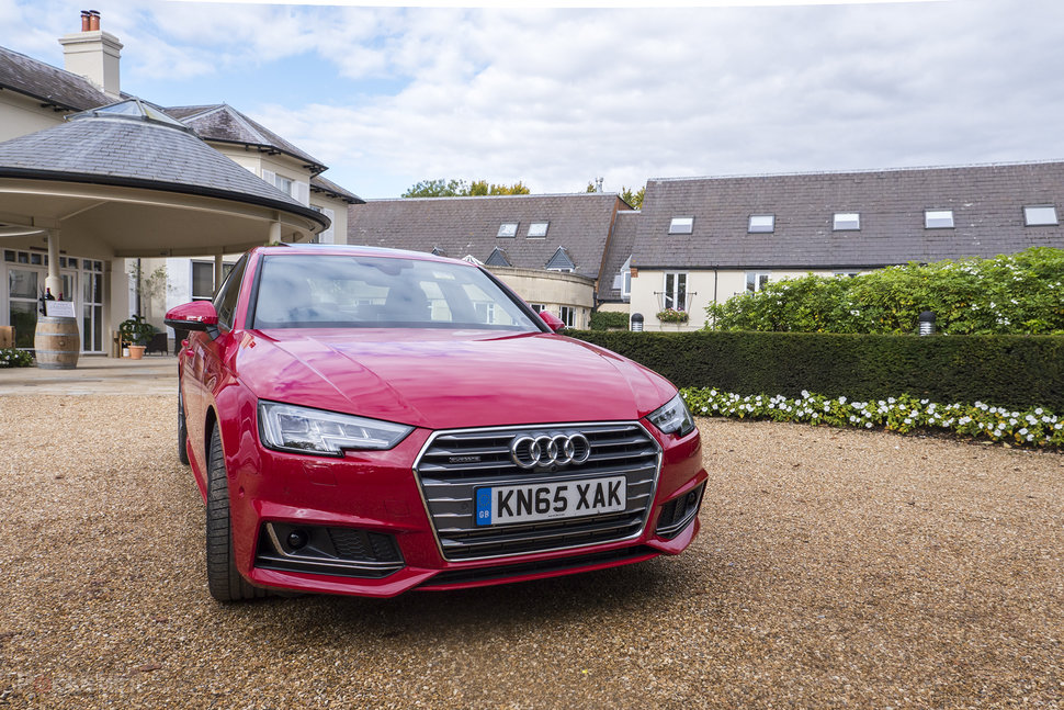 Audi A4 (2016) first drive: All about the extras - Pocket-lint