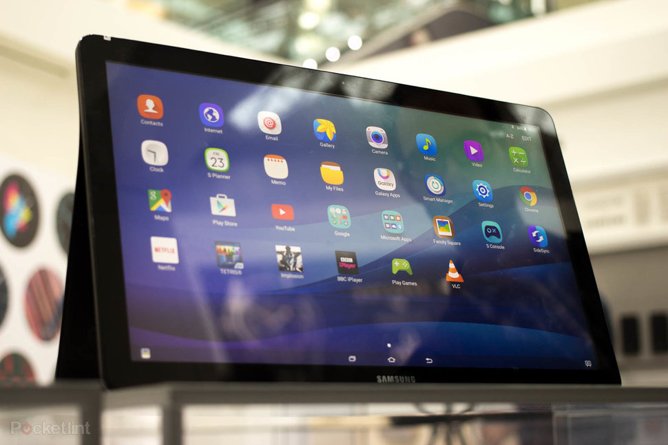 samsung view tablet. samsung galaxy view image 1 tablet