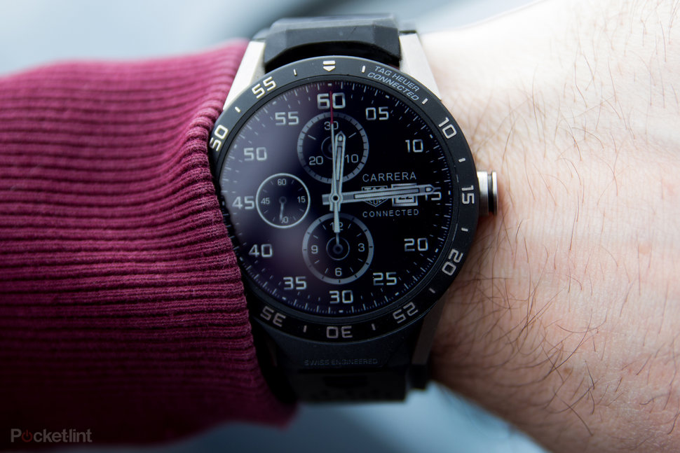 bb8da85e608 Tag Heuer Connected review  Android Wear gets its luxury tag ...