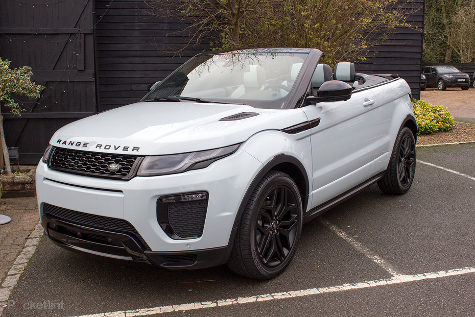 range rover evoque convertible pictures packed with tech. Black Bedroom Furniture Sets. Home Design Ideas
