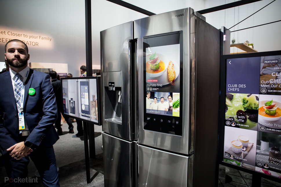 Samsung Family Hub Review >> Samsung Family Hub Connected Fridge Now Available In Uk Pocke