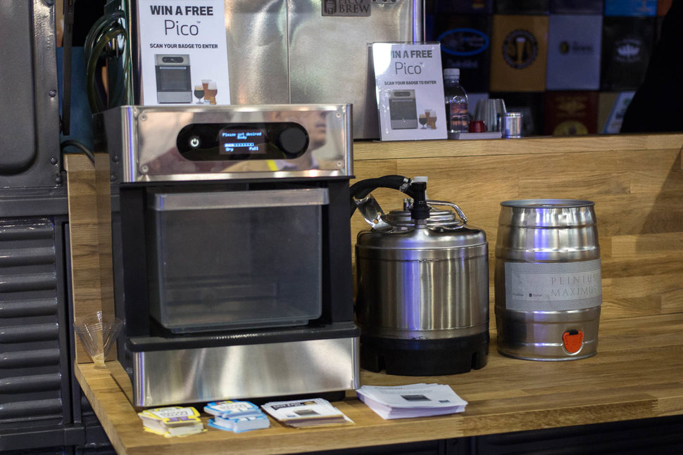 Pico Brew A Home Brewing Machine That Makes Beer Making