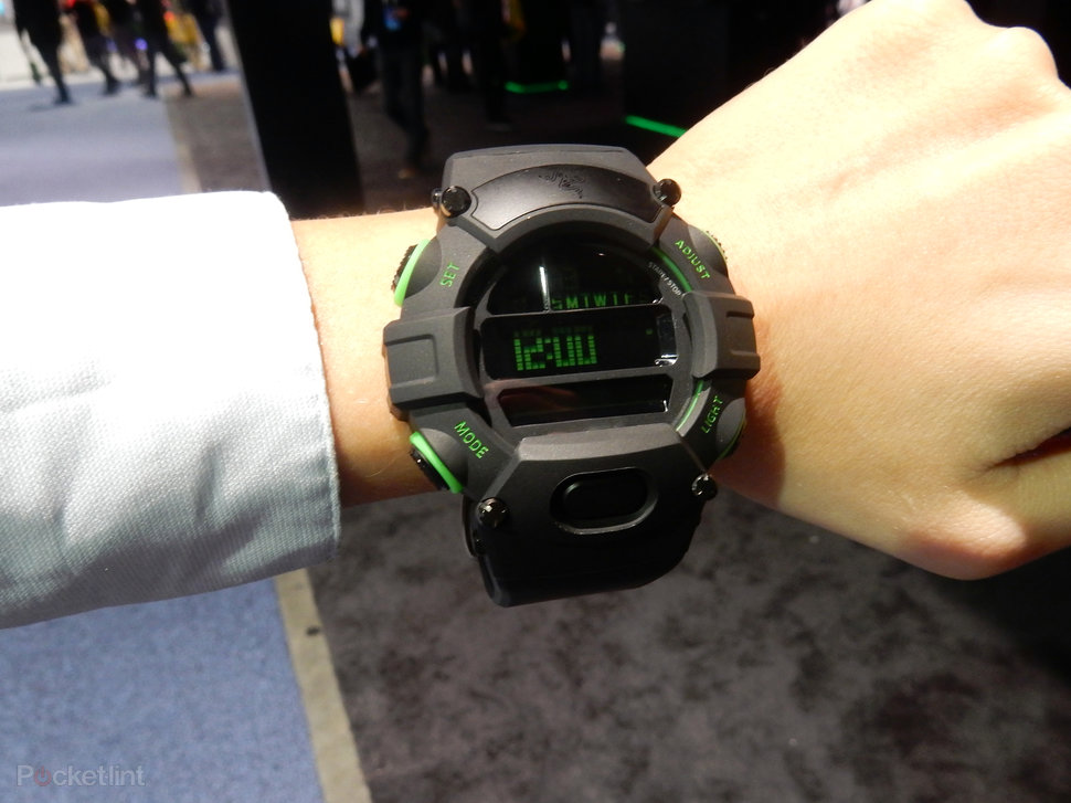 Razer Nabu Watch: Here's that enormous digital watch with ...