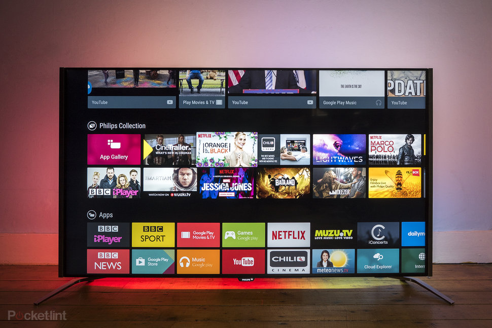 Bardzo dobry Philips PUS8601 4K TV with 4-sided Ambilight review: Colour us FD51