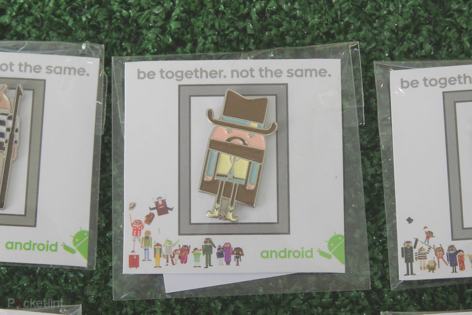 Android at MWC: There are 87 pin badges, and here's what they l