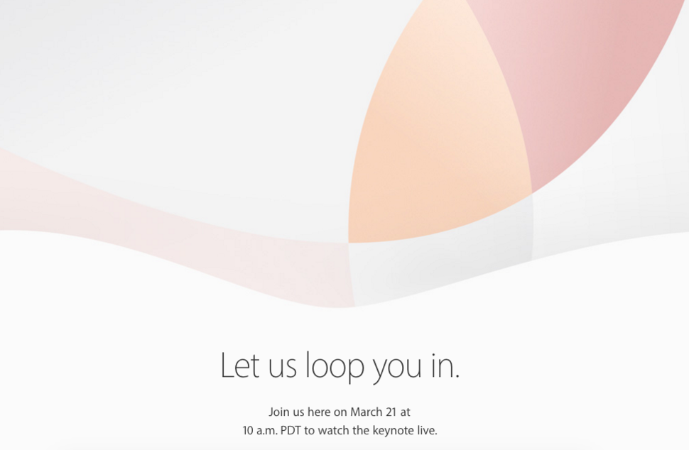 Apple Confirms March 21 Launch Event