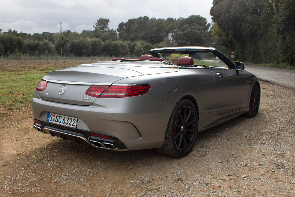 MercedesBenz SClass Cabriolet First Drive Comfortably Cool - Cool first cars