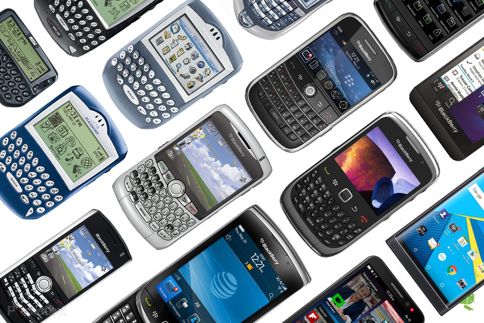 The History Of Blackberry Best Phones That Chan