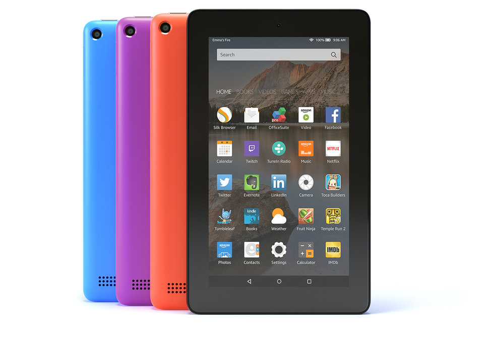 Amazon launches Fire tablet in 3 new colors with higher storage