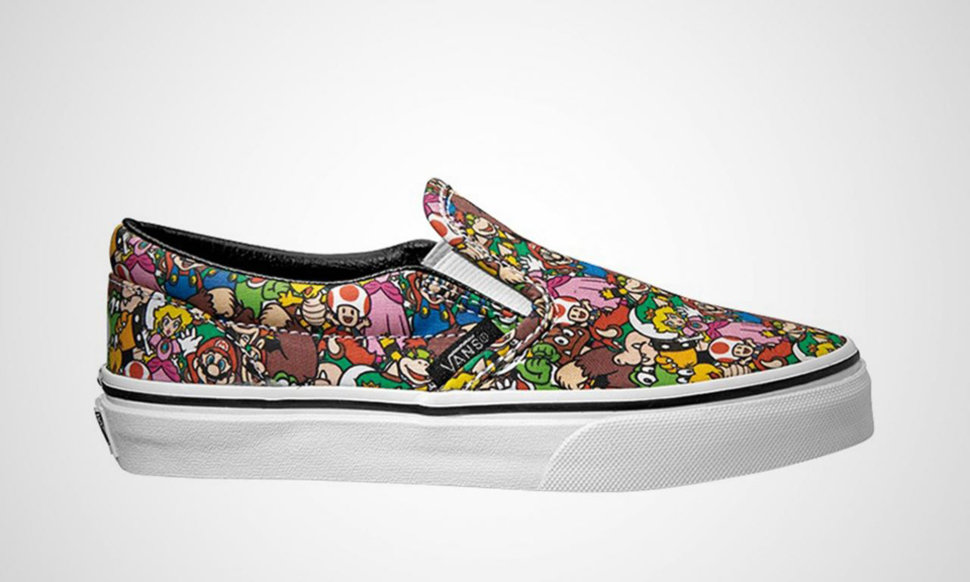 vans nintendo shoes. is there anything better than nintendo vans sneakers image 1 shoes