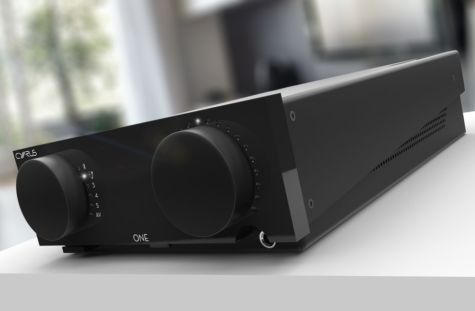 Cyrus Audio will start selling its One compact amplifier this s