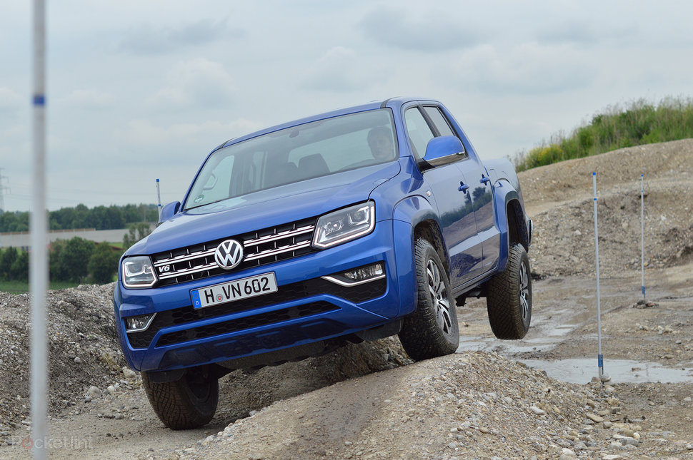 Pocket-lint Volkswagen Amarok (2016) first drive: A tough toiler in smart trousers