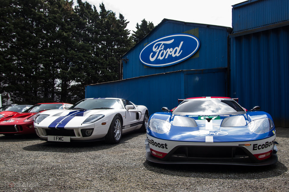 Ford GT Ford Performance heritage from 1966 to Le Mans 2016