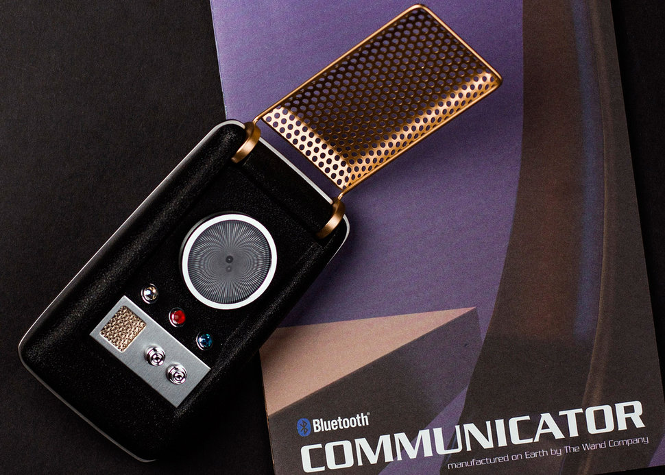Bluetooth Star Trek Communicator now available to pre-order - P