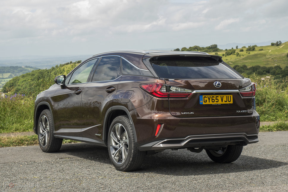 lexus rx hybrid front right review