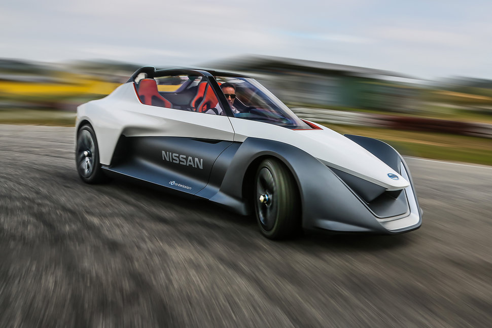 Lovely Nissan Bladeglider First Drive Image 1