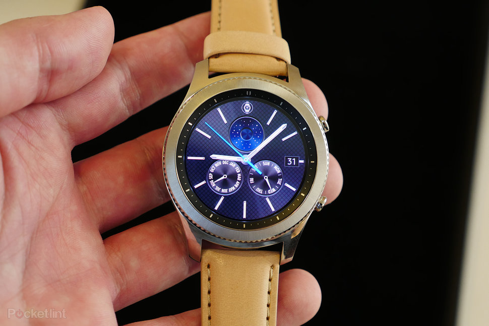 Samsung gear s3 review android wear beware this is the smartwatch to beat pocket lint for Watches gear