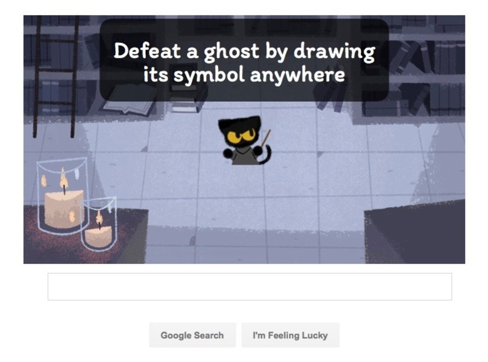 how to play the awesome halloween google doodle image 5
