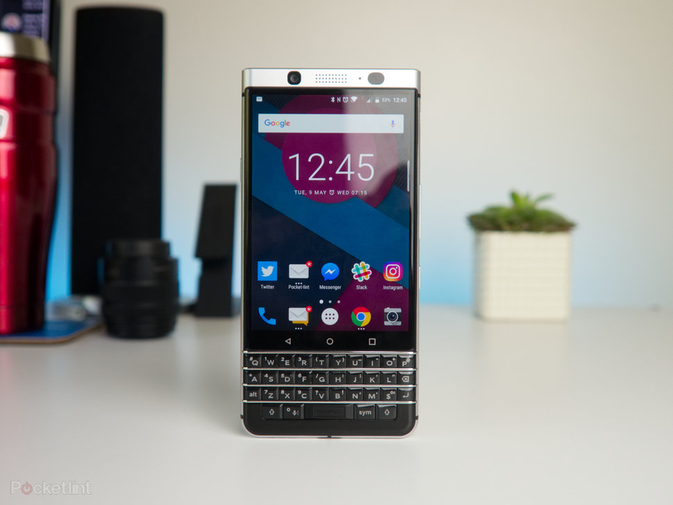 Blackberry keyone review blackberrys bold return to form pocket lint blackberry keyone review image 1 reheart Choice Image