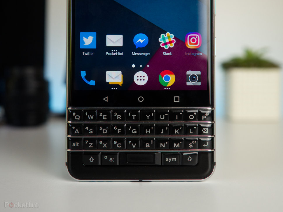 Blackberry keyone review blackberrys bold return to form pocket lint blackberry keyone review image 2 reheart Images