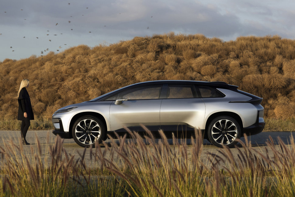 Faraday Future S First Production Car Ff 91 Hits The Road In 2018 Image 1