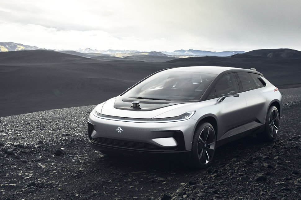 Faraday Future S First Production Car Ff 91 Hits The Road In 2018 Image 2