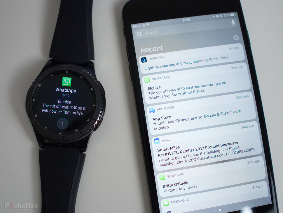 low priced 501ac 22810 Samsung Gear S3 and Gear S2 now connect to iPhone, here's how i