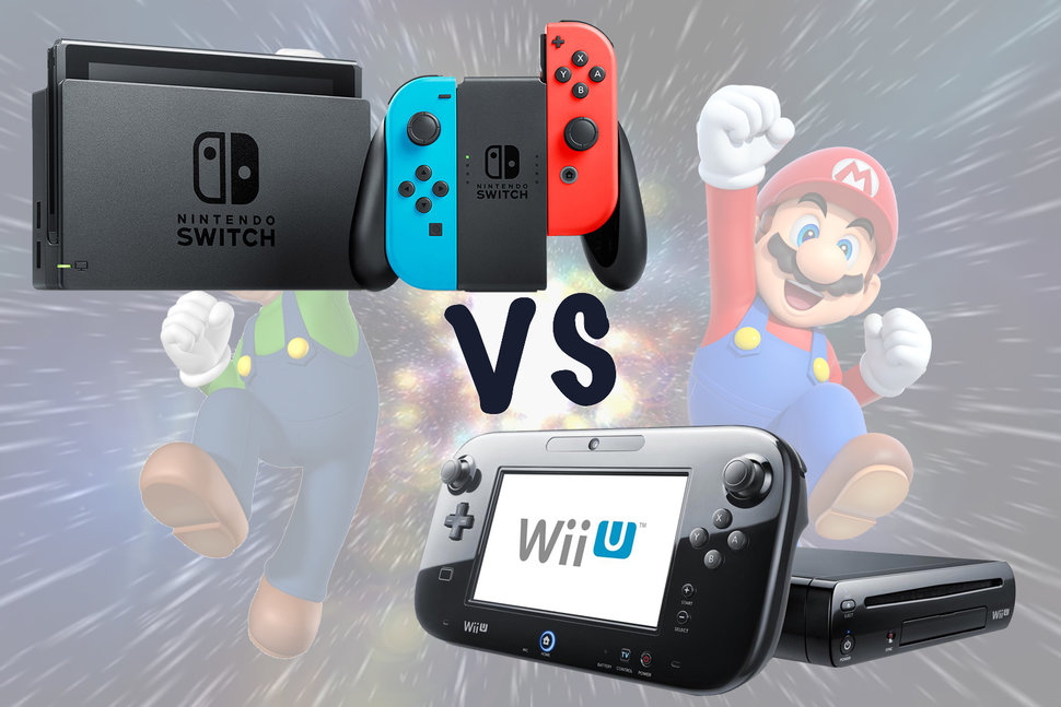 Nintendo Switch vs Wii U
