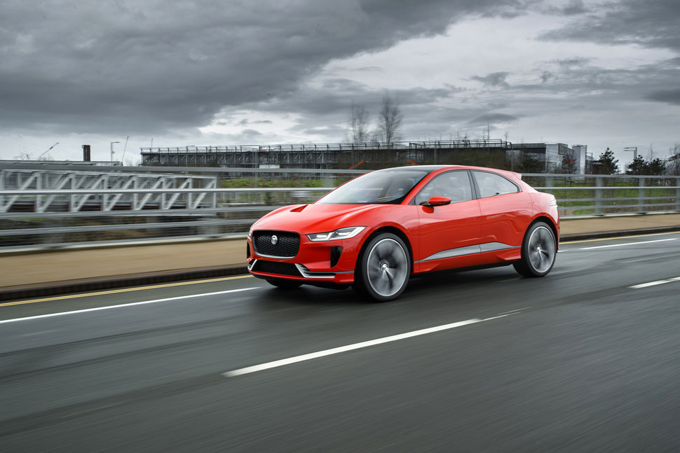 Electric Jaguar I Pace Hits The Road For First Time Production Model  Unveiled In Late 2017