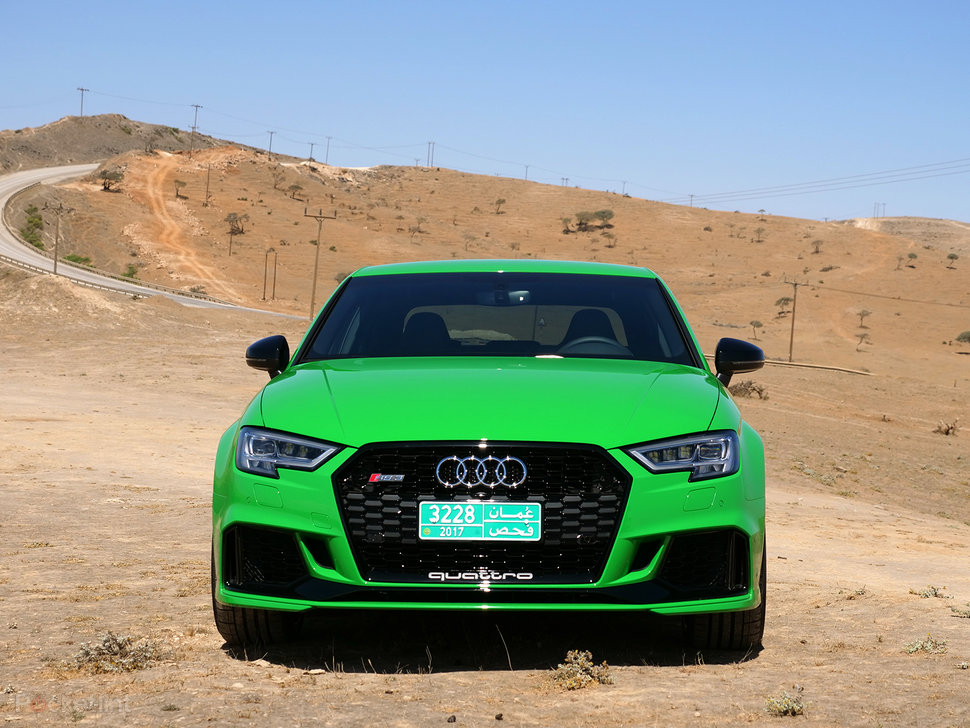 Audi RS Saloon Review Racecar Fun For The Road Pocketlint - Audi rs3
