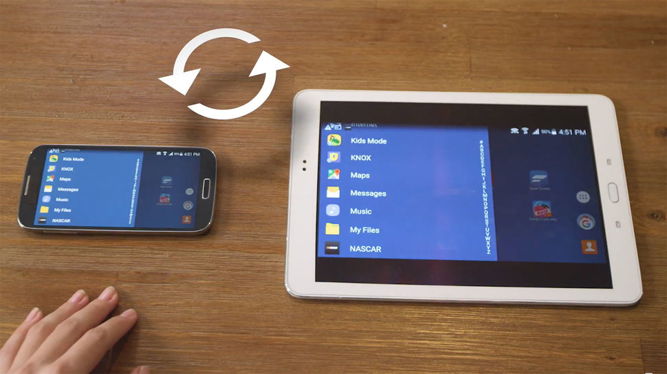Turn your Android phone or iPhone into a tablet with the ...
